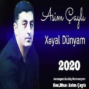 دانلود آهنگ Asim Çayli Xeyal Dunyam